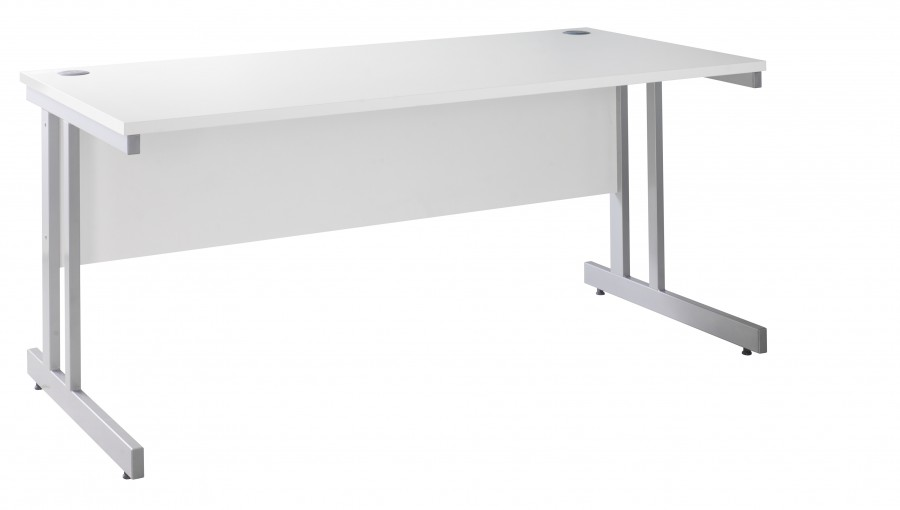 Stunning White Office Desk White Office Desk 1000mm Wide With Free Delivery