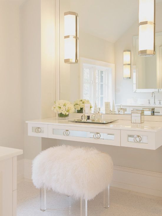 Stunning White Vanity Dressing Table With Mirror 10 Inexpensive Ways To Create A Spa Bath Vanity Stool Vanities