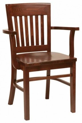 Stunning Wooden Kitchen Chairs With Arms Wooden Kitchen Chairs With Arms Foter