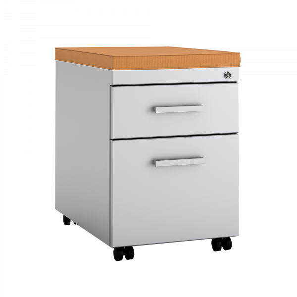 Stylish 1 Drawer File Cabinet Ts Series Mobile Filing Cabinet With Cushion Top Steelcase Store