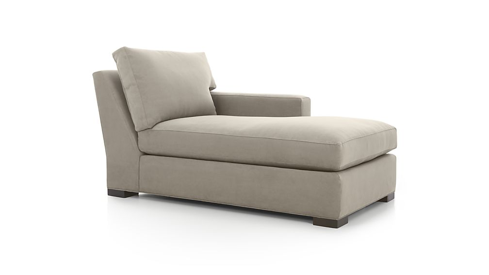 Stylish 2 Arm Chaise Lounge Axis Ii Right Arm Chaise Lounge Crate And Barrel