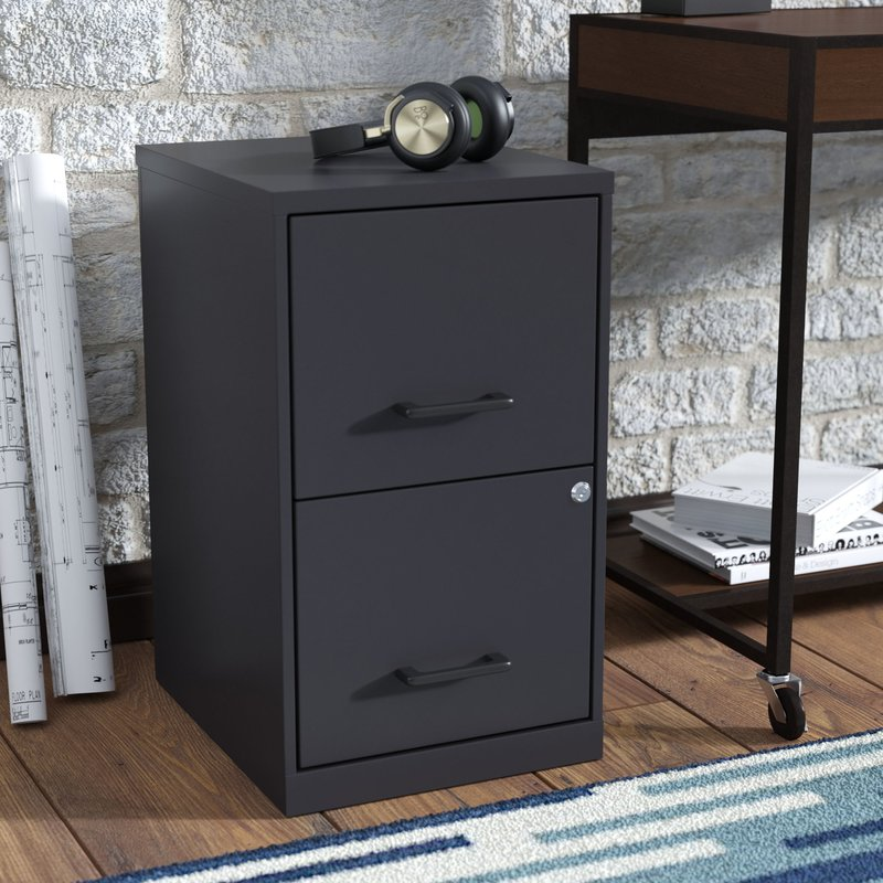 Stylish 4 Drawer Wood File Cabinet With Lock Locking Filing Cabinets Youll Love Wayfair