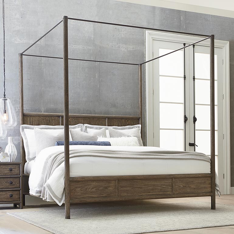 Stylish 4 Poster Cal King Bed Poster Bed King And Queen Poster Beds