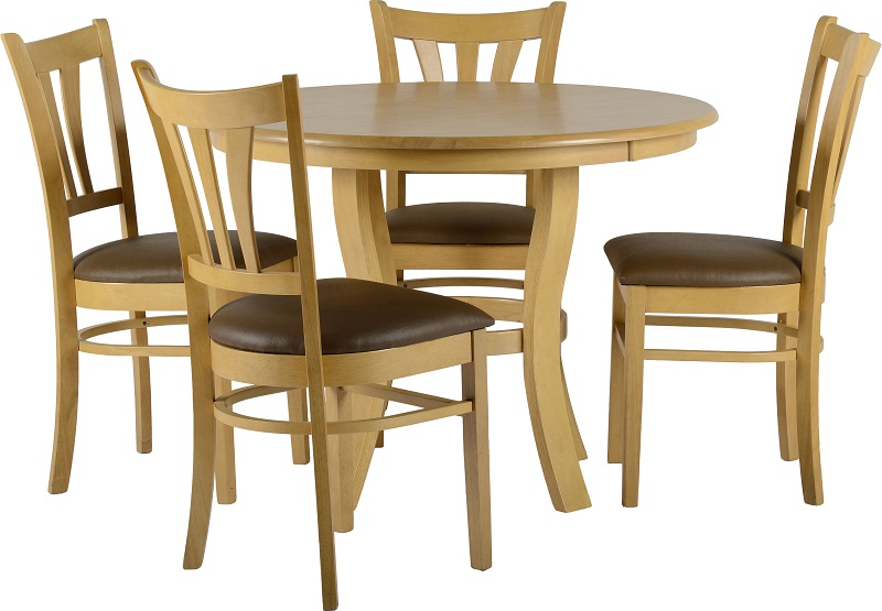 Stylish 4 Wooden Dining Chairs Chartlink Furniture Specials