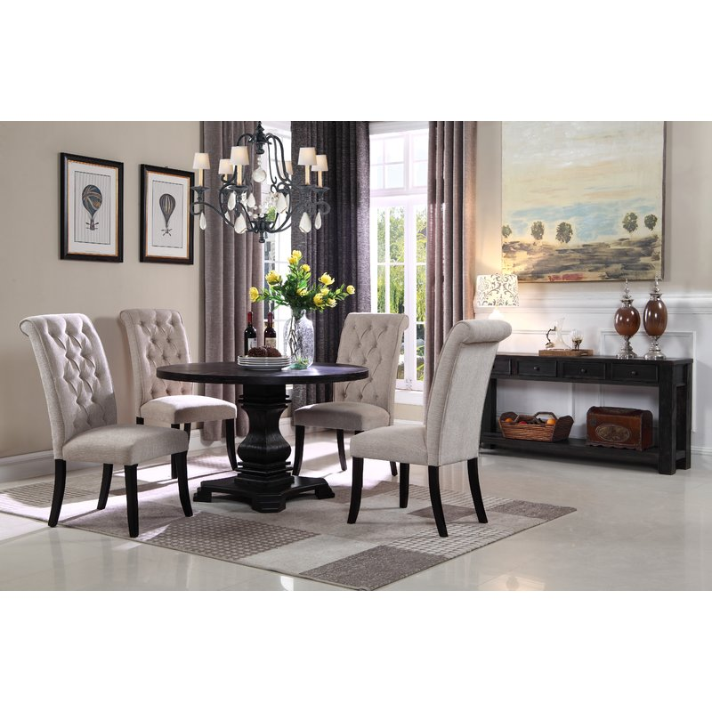Stylish 5 Piece Living Room Furniture Sets Dar Home Co Cropper 5 Piece Dining Set Reviews Wayfair