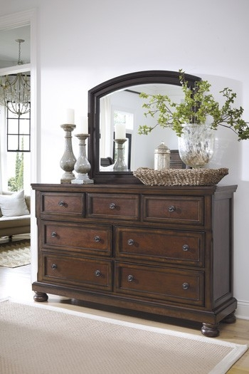 Stylish Ashley Furniture Blue Dresser Bedroom Dresser New Ashley Furniture Porter From Millennium To