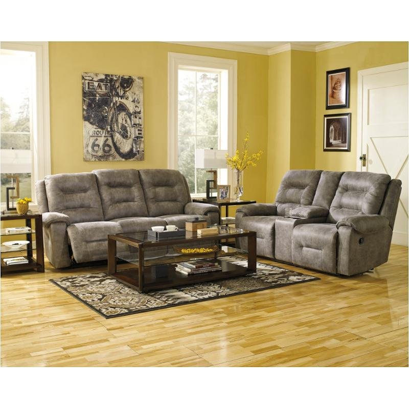 Stylish Ashley Furniture Reclining Sofa 9750188 Ashley Furniture Rotation Smoke Reclining Sofa Smoke