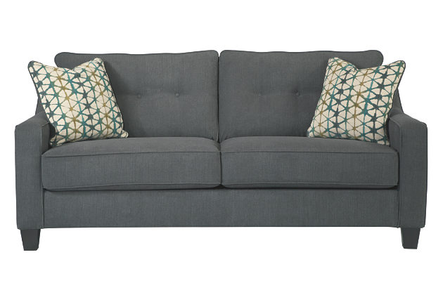 Stylish Ashley Furniture Tufted Couch Innovation Ashley Furniture Gray Sofa Delightful Design Shayla