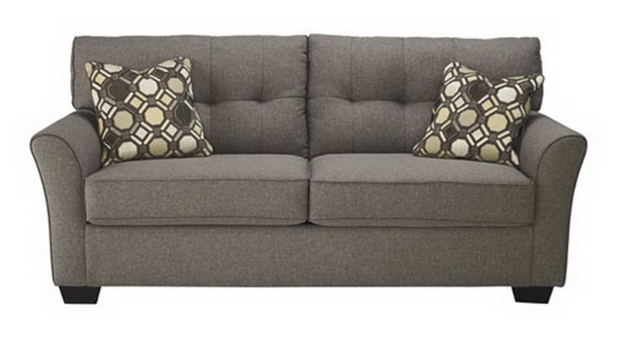 Stylish Ashley Furniture Tufted Couch Modern Tufted Sofa Loveseat Accent Chair In Grey Sam Levitz