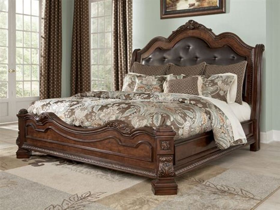 Stylish Ashley Queen Platform Bed Ashley Furniture Queen Size Bed Furniture Design Ideas