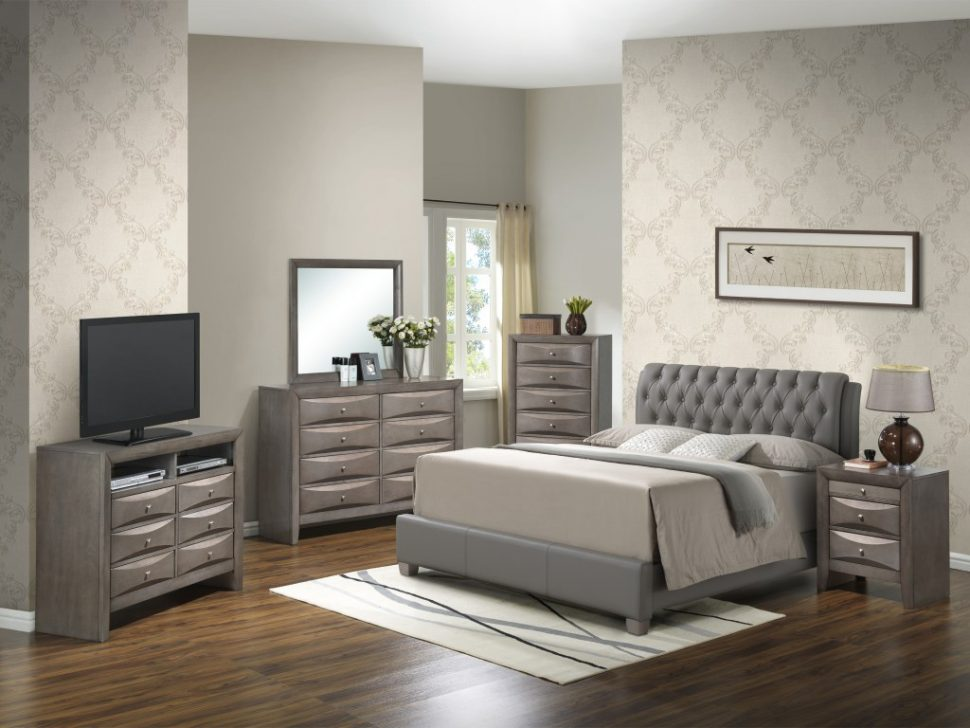 Stylish Bedroom Set With Desk Queen Bedroom Queen Bedroom Sets Wayfair Panel Customizable Set