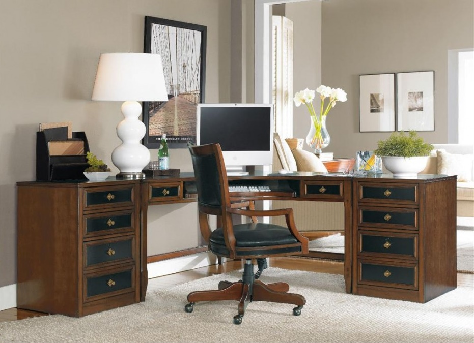 Stylish Big Home Office Desks Home Office Interesting Letter L Shaped Home Office Desks Which