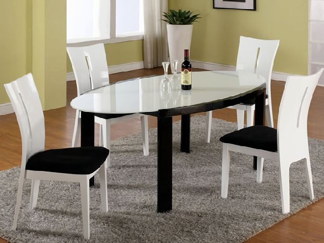 Stylish Black And White Dining Chairs Chairs Astounding Black And White Dining Chairs Black And White