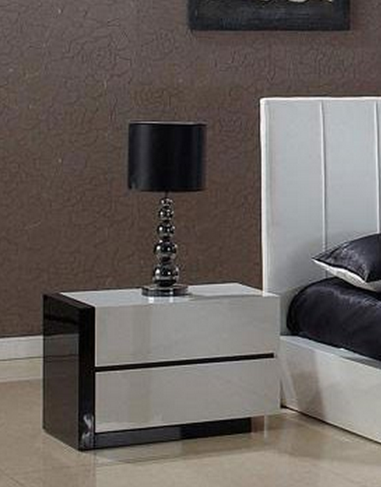 Stylish Black Bedroom End Tables Chic Modern Black Nightstands Baxton Studio Abner Dark Brown