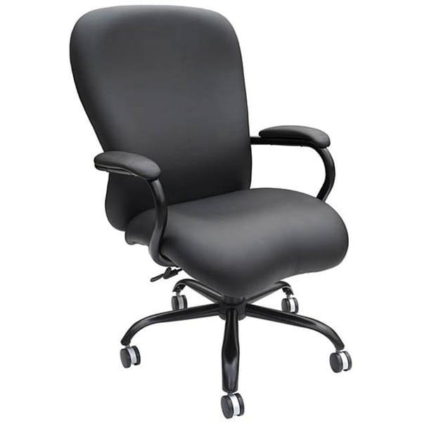 Stylish Black Desk Chair Boss Heavy Duty Big And Tall Desk Chair Free Shipping Today