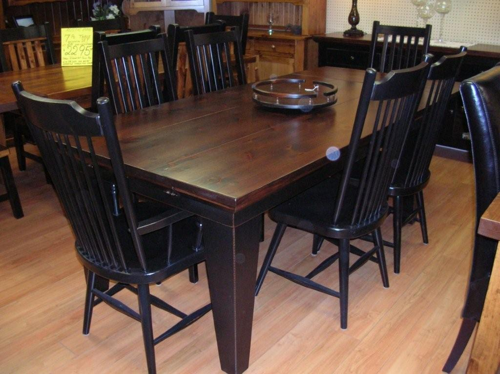 Stylish Black Dining Table And Chairs Set Rustic Dining Table Rustic Dining Room Tables Rustic Wood Dining