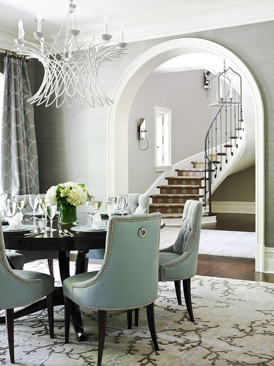 Stylish Black Tufted Dining Room Chairs Tufted Dining Chair Contemporary Dining Room Ralph Lauren