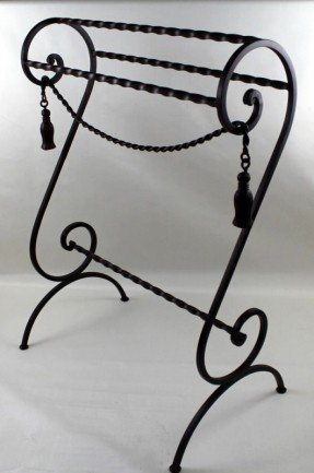 Stylish Black Wrought Iron Quilt Rack Wrought Iron Quilt Rack Foter