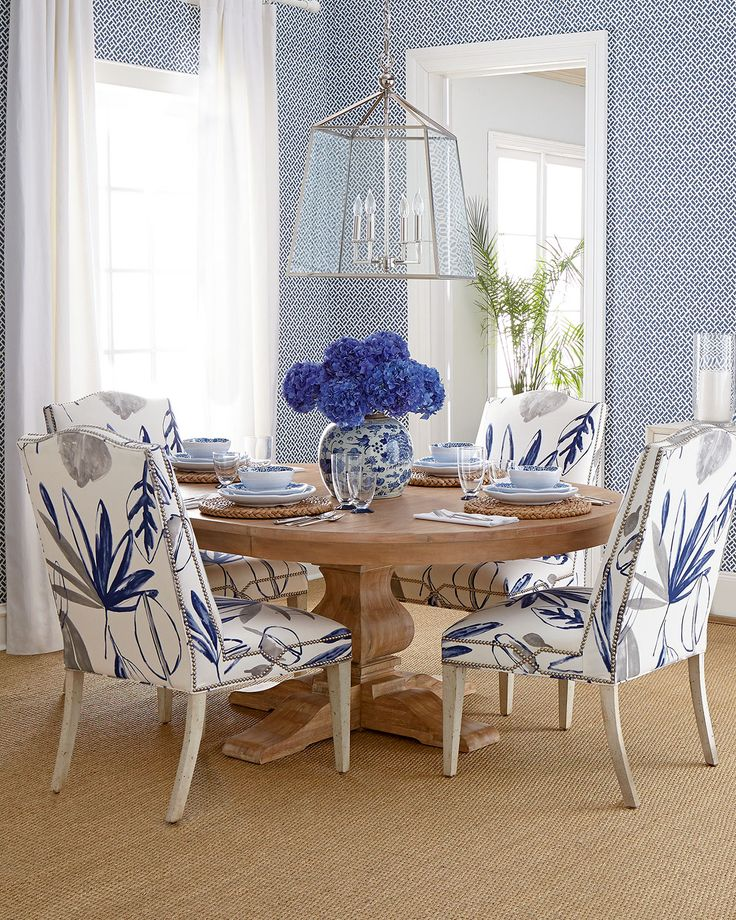 Stylish Blue And White Dining Chairs 881 Best Dining Chairs Images On Pinterest Chairs Dining Chairs
