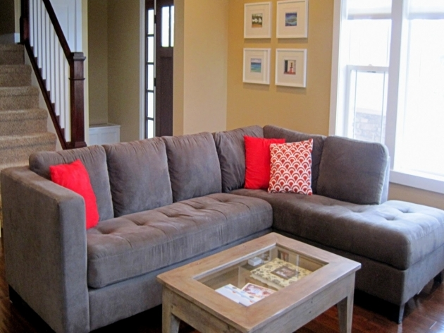 Stylish Charcoal Gray Sectional Sofa With Chaise Lounge Charcoal Gray Sectional Sofa With Chaise Lounge Living Room Ideas