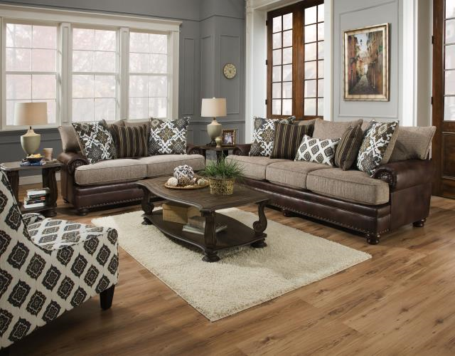 Stylish Chocolate Living Room Furniture Yellowstone Chocolate Living Room Group 8647 Living Room
