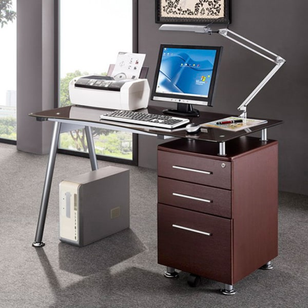 Stylish Computer Desk And File Cabinet Modern Design Office Locking File Cabinet Computer Desk Free