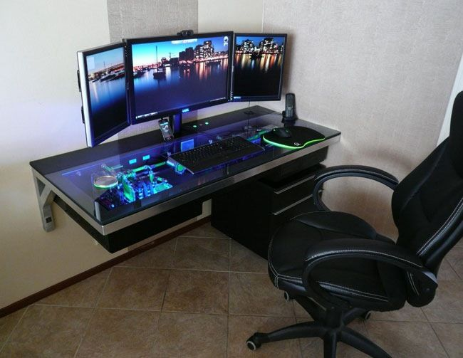 Stylish Computer Gaming Station The 25 Best Gaming Station Computer Desk Ideas On Pinterest