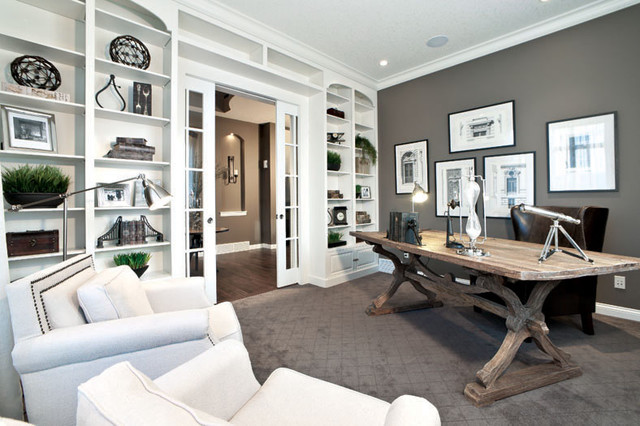Stylish Contemporary Home Office Delmar Lotto Home Previous Showhome Shane Homes