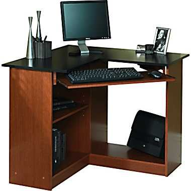 Stylish Corner Desktop Computer Desk Staples Corner Computer Desk Furniture Concepts Pinterest