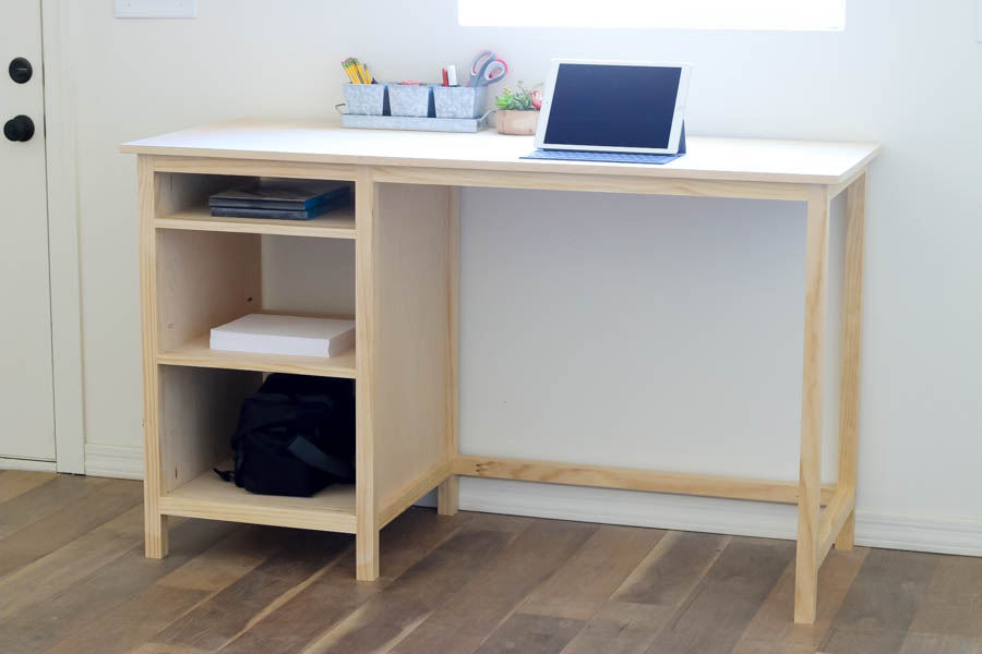 Stylish Counter Height Desk Diy Counter Height Desk With Storage Addicted 2 Diy