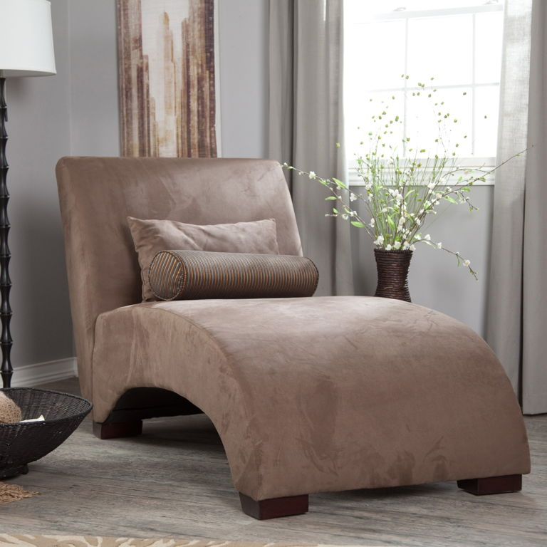 Stylish Cream Colored Chaise Lounge Furniture Wonderful Classy Cream Brown Colors Chaise Lounges