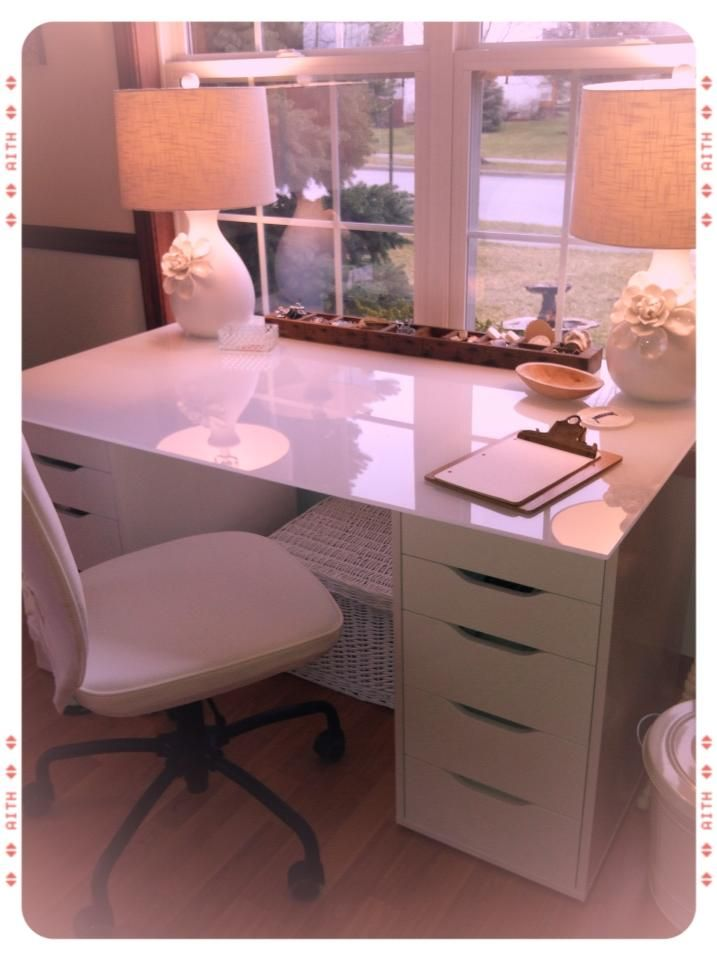 Stylish Create A Desk Best 25 White Desk With Drawers Ideas On Pinterest White Makeup