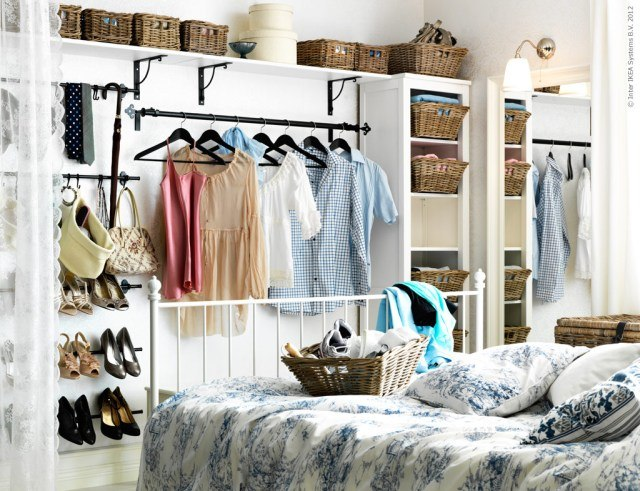 Stylish Create Closet In Bedroom 13 Ways To Make Your Room Without A Closet Work