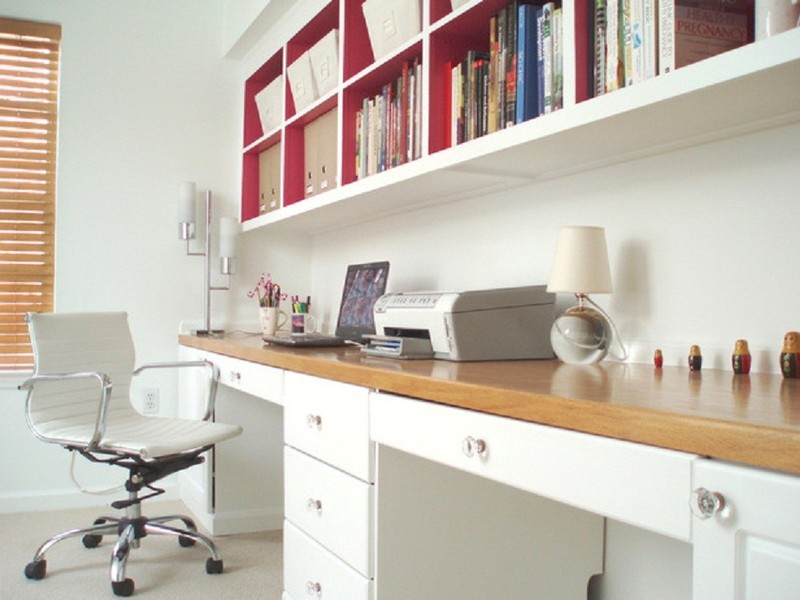 Stylish Custom Built In Desk Ideas Wall Units Amusing Desk Bookcase Wall Unit Built In Desk Ideas