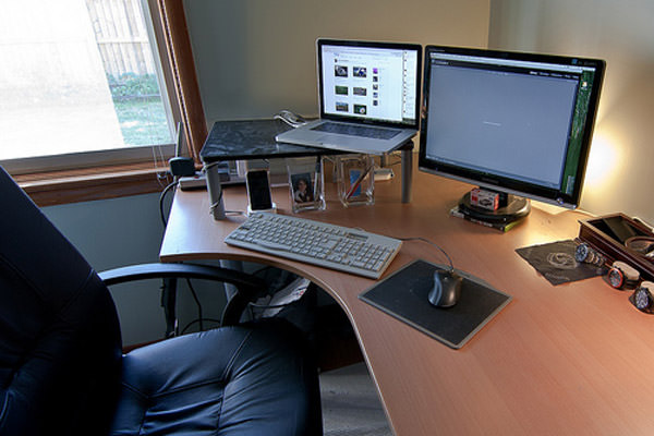 Stylish Desk Setup Ideas Gorgeous Small Desk Setup Simple Cheap Furniture Ideas With