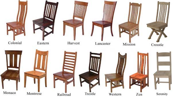 Stylish Dining Chair Styles Chairs Benches And Barstools