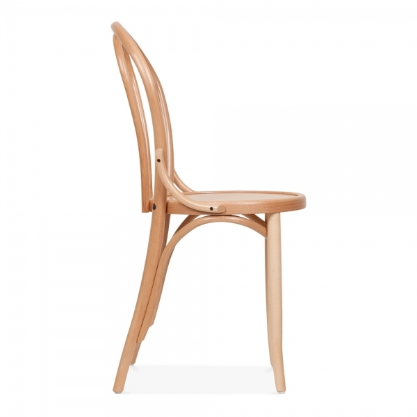 Stylish Dining Chairs Natural Wood Thonet Style Bistro Wooden Dining Chair Made To Order Cult