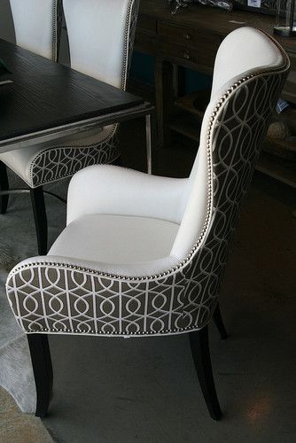 Stylish Dining Side Chairs With Arms Best 25 Upholstered Dining Chairs Ideas On Pinterest