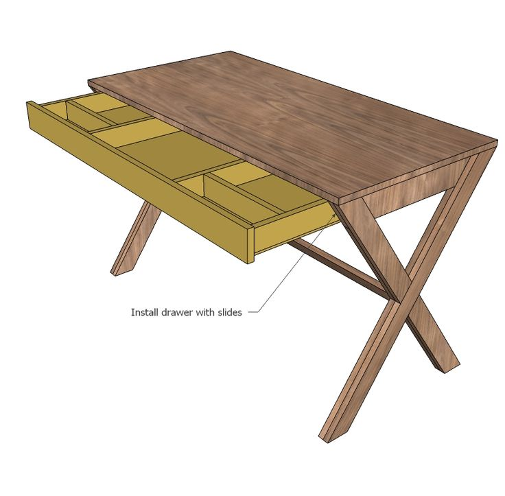 Stylish Diy Office Desk Plans Best 25 Desk Plans Ideas On Pinterest Build A Desk Diy Desk