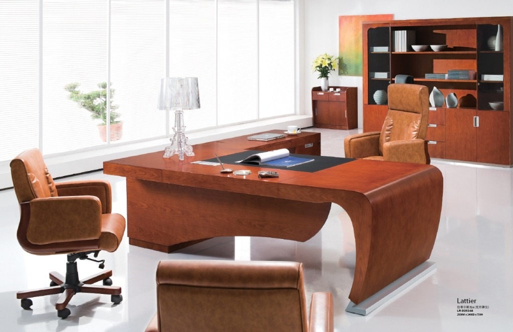 Stylish Executive Office Furniture Lattier A Luxury Executive Desk Executive L Shaped Desk