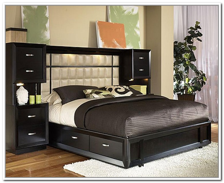 Stylish Full Headboard And Frame Diy Base Queen Bed Frame With Storage The Home Redesign