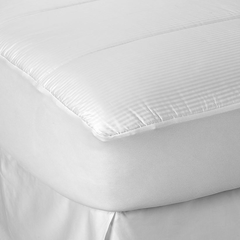 Stylish Full Mattress Pad Cover Buying Guide To Mattress Pads Toppers Bed Bath Beyond