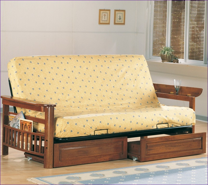 Stylish Futon Bed With Mattress Included Furniture Marvelous Metal Futon Sofa Bed With Mattress Low Futon