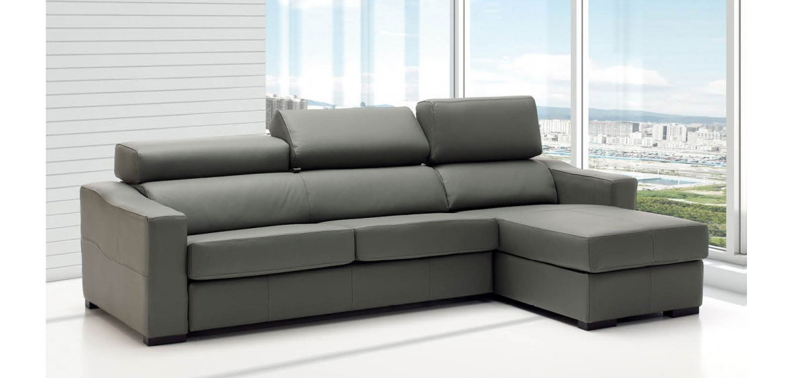 Stylish Grey Sectional Sofa Bed Lucas Sectional Sofa Bed Sleeper In Grey Leather