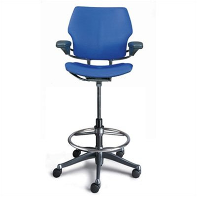 Stylish High Office Chair Humanscalefreedomergonomicdraftingleatherhighofficechair