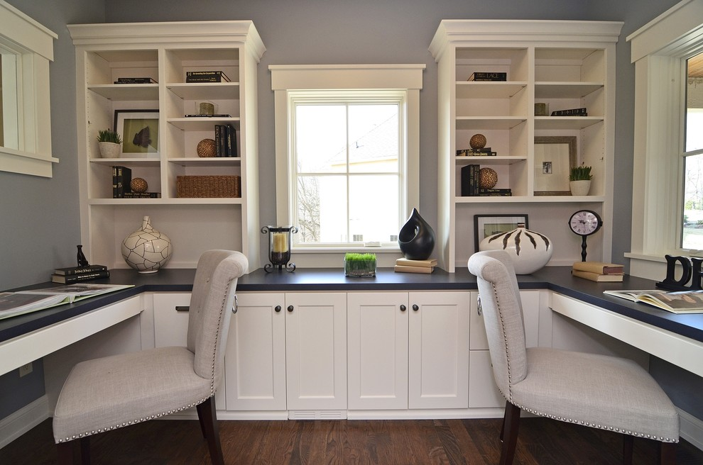 Stylish Home Office Desk And Bookshelf Wall Units Interesting Bookcase With Built In Desk Captivating
