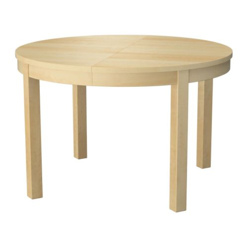 Stylish Ikea Round Dining Table Beautiful Extendable Round Dining Table Bjursta Extendable Table