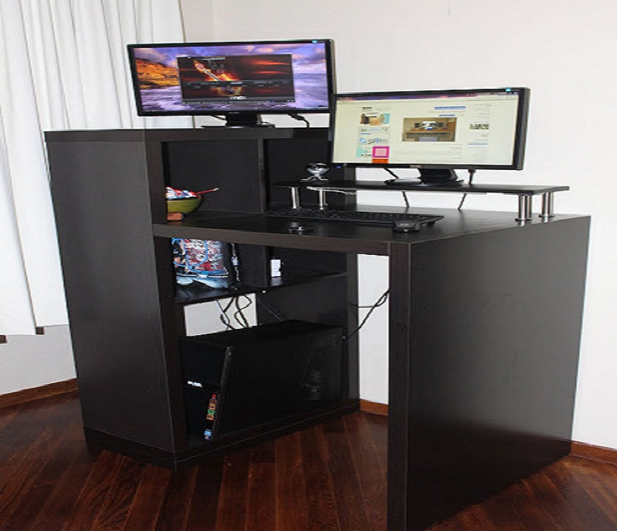 Stylish Ikea Standing Laptop Desk Black Standing Laptop Desk Diy All Home Ideas And Decor How To