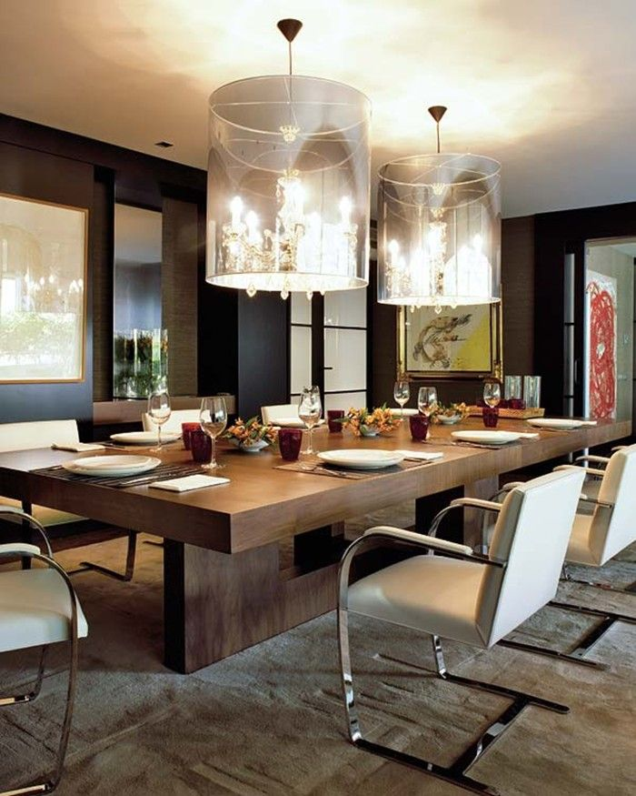 Stylish Large Modern Dining Room Tables Best 25 Modern Dining Table Ideas On Pinterest Dining Room
