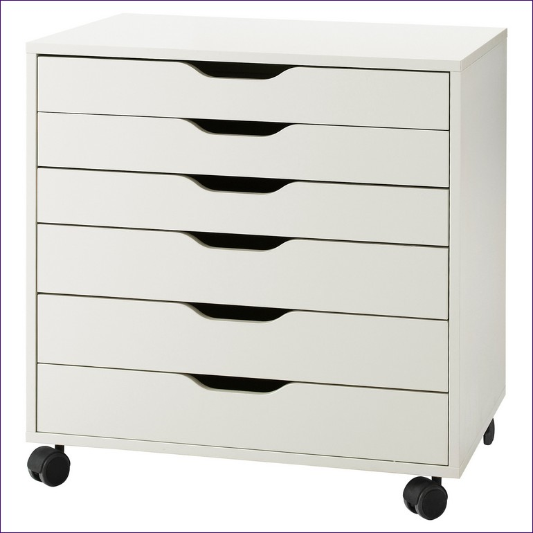 Stylish Lateral File Cabinet On Wheels Furnitures Ideas Magnificent File Stand Under Desk Rolling File